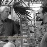 Walter Baco (Wien, links) und Florian L. Arnold: Piefke-Poeten im Einsatz. 7. Juli 2014.